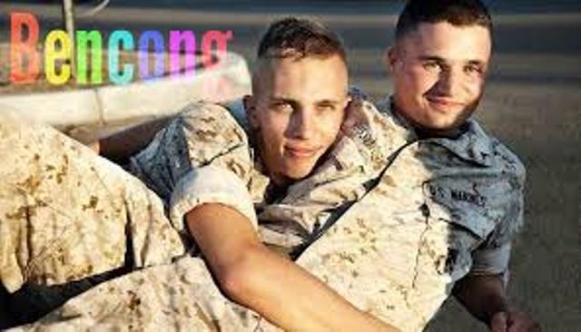 Foto Ilustrasi LGBT yang jadi tentara