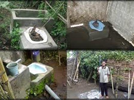 Ilustrasi Salaha Satu Sitem Sanitasi