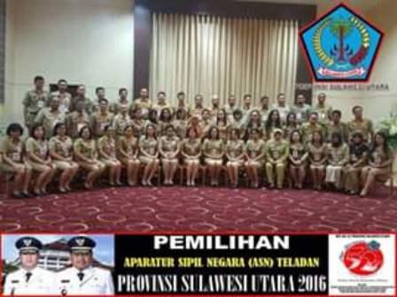 Lomba ASN Teladan Dalam Rangka HUT ke-52 Provinsi Sulut