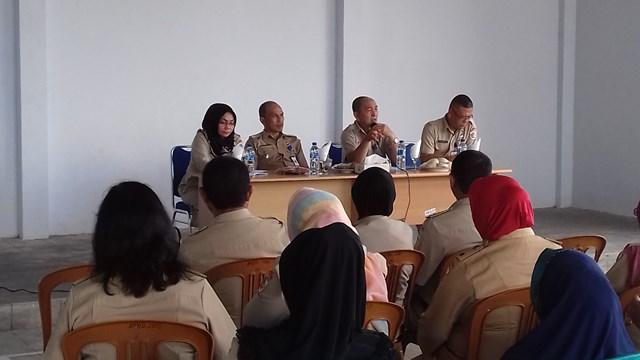 Rapat Evaluasi pembangunan dan kemasyarakatan