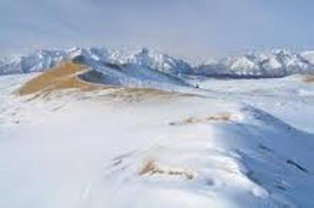 Salju Kembali Turun di Gurun Sahara