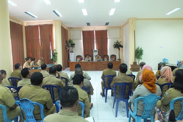 Pimpinan SKPD dan Aparatur Diharapkan dapat Menunjukkan Kinerja