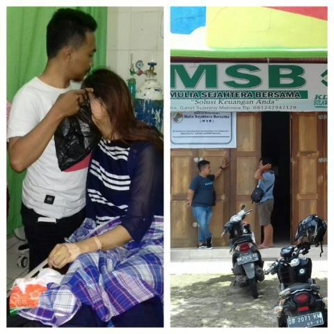 Karyawati Koperasi MSB Disekap di Kamar Mandi