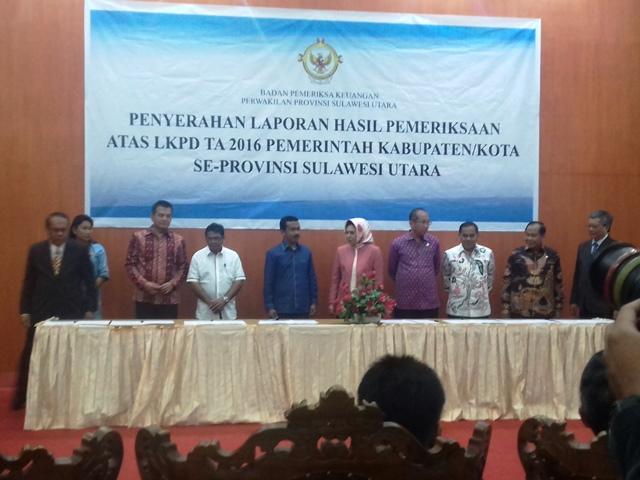 13 Daerah Raih Opini WTP, Manado WDP dan Bolmong Disclaimer