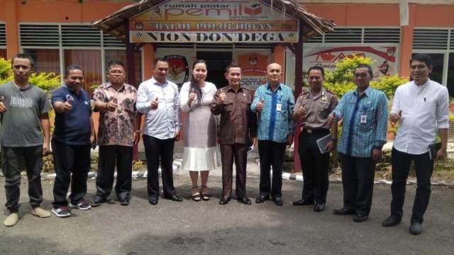 Komisi I DPRD Sulut Kunjungi KPUD Kotamobagu