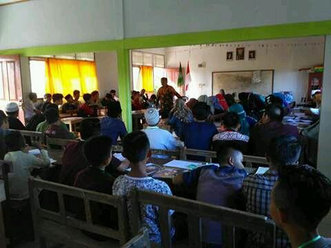 98 Pelajar dari Dumoga Bersatu Mengikuti Kaderisasi AMM