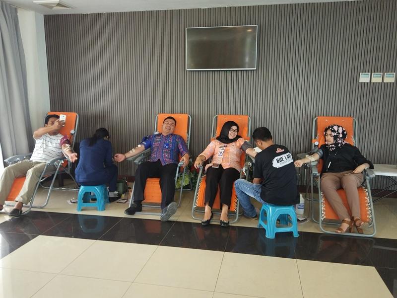 Pemkot Apresiasi Kegiatan Donor Darah yang dilaksanakan Hotel Sutanraja