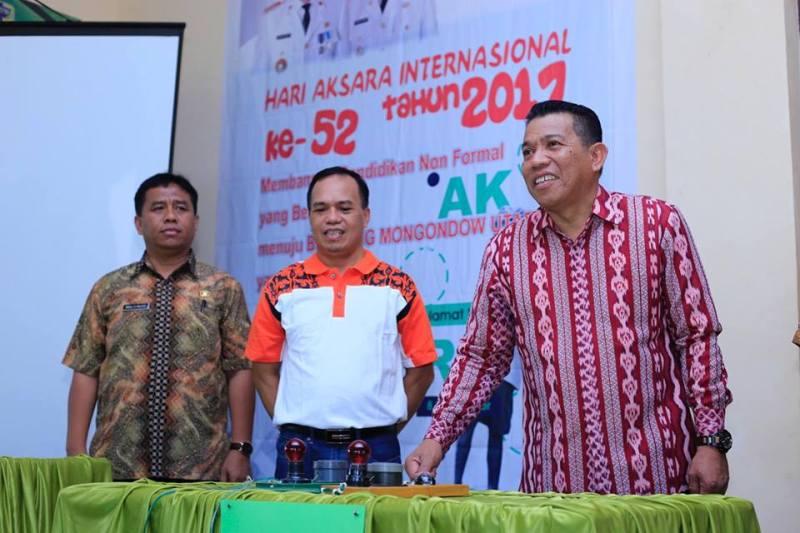 Bupati Buka Lomba SPNF-SKB dalam Rangka Hari Aksara Internasional ke-52