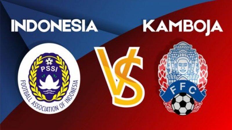 Live Streaming Sepak Bola Malam Ini Pukul 21.00 Wita, Laga Uji Coba Timnas Senior Indonesia vs Kamboja