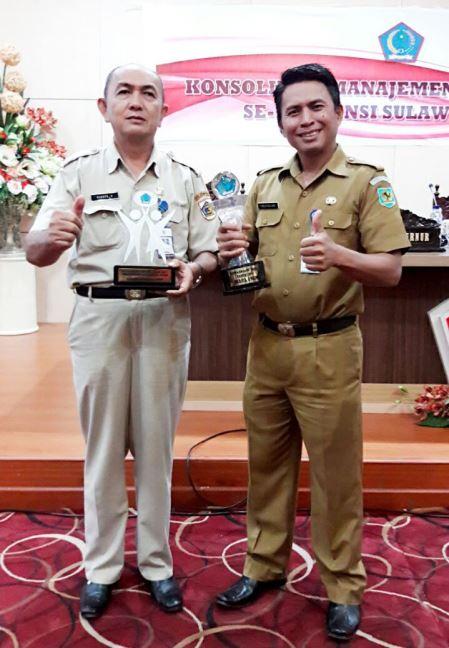 Pemkot Kotamobagu Terima Tiga Penghargaan Terkait Pengelolaan Kepegawaian