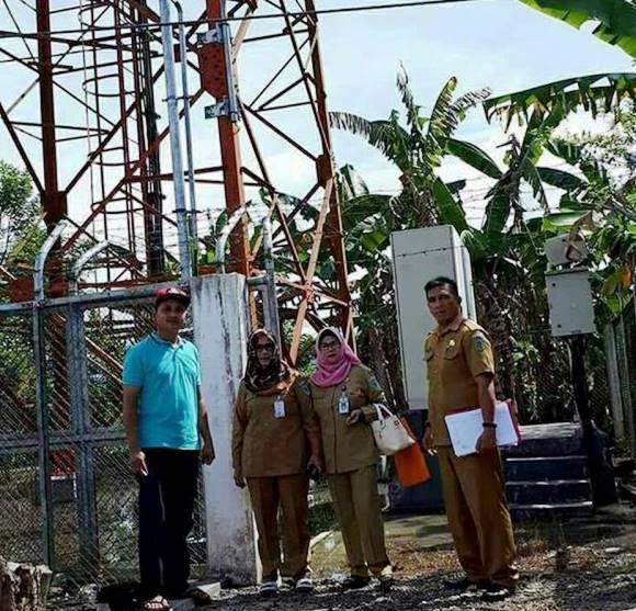 Diskominfo Bolmong Survey Tower Telepon Seluler