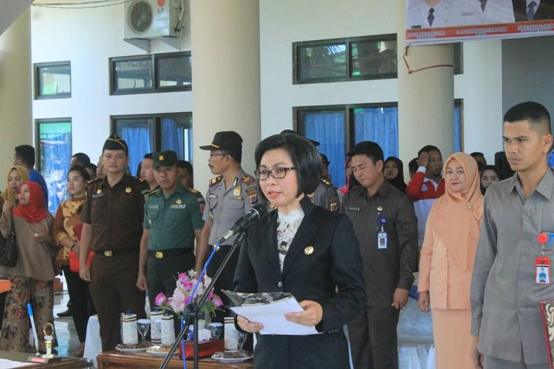 Ini Tujuh Poin Penegasan Bupati Bolmong Saat Melantik 295 Pejabat