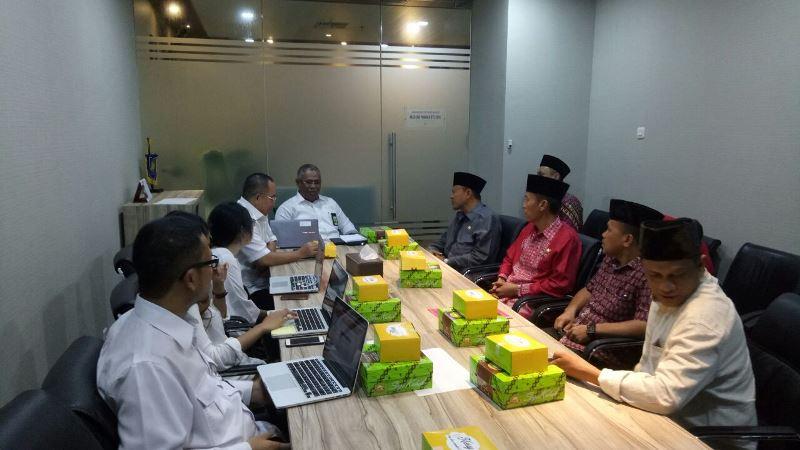Bupati dan Wakil Bupati Bolsel Bahas Program Strategis dengan Deputi I