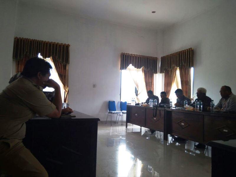 DPRD Boltim Gelar Rapat Kerja dengan PPL