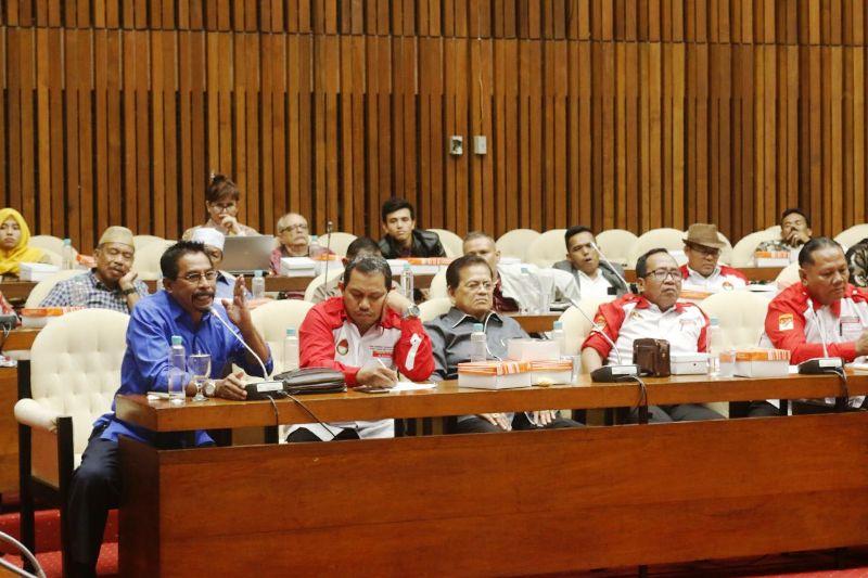 Pimpin Forkonas CDOB, Sehan Melaksanakan Audiensi Dengan Komisi 11 DPR RI