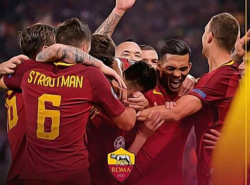 Akhirnya Barca Tumbang di Stadion Olimpico AS Roma