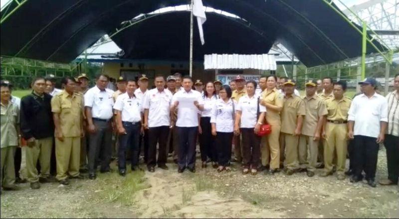 Kecamatan Dumoga Tengah Deklarasi Anti Hoax, Berikut Videonya