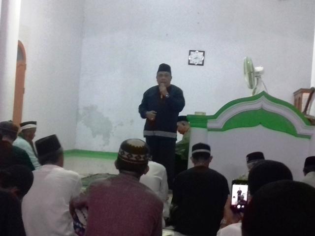Tim Dua Gelar Safari Ramadhan di Mesjid Mifta Huljannah Desa Buyat Induk