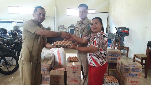3 Panti Asuhan dapat Bantuan Sembako dari Dinsos Bolmong