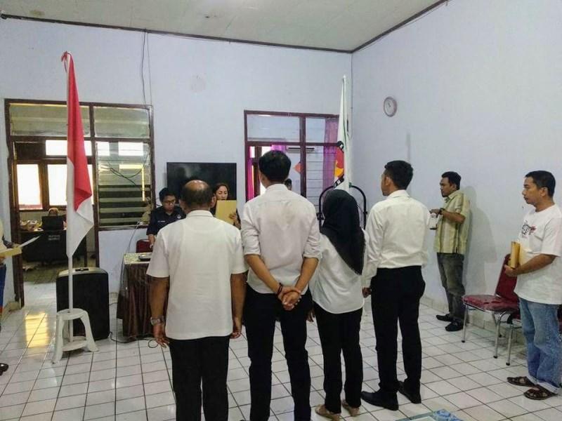 KPU Kotamobagu Lantik Anggota PPK dan PPS PAW