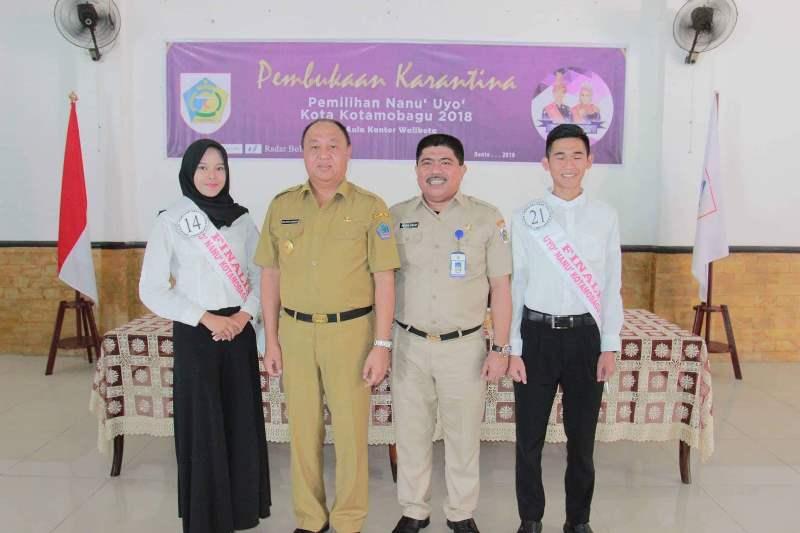 Buka Pelaksanaan Karangtina Finalis Nanu dan Uyo, Pjs Wali Kota Berpesan Jaga Persaudaraan