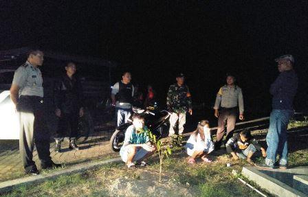 Tim Gabungan Polsek dan Koramil Kotabunan Gelar Operasi Cipkon