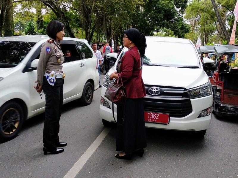 Kendaraan Plat Merah Tak Luput dari Razia Operasi Patuh Samrat 2018