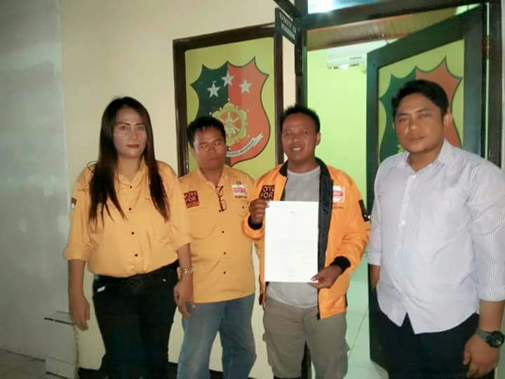 Dilecehkan Lewat Medsos Partai Hanura Lapor ke Polres Bolmong