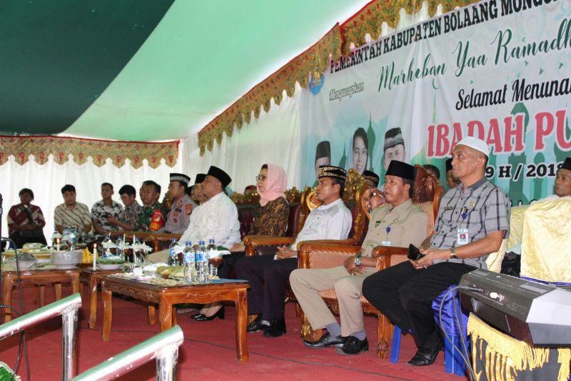 Pemkab Bolmong Gelar Safari Ramadhan di Empat Kecamatan