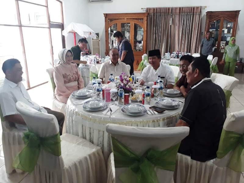 Pjs Wali Kota Gelar Open House dan Bersilaturahmi ke Sejumlah Pejabat