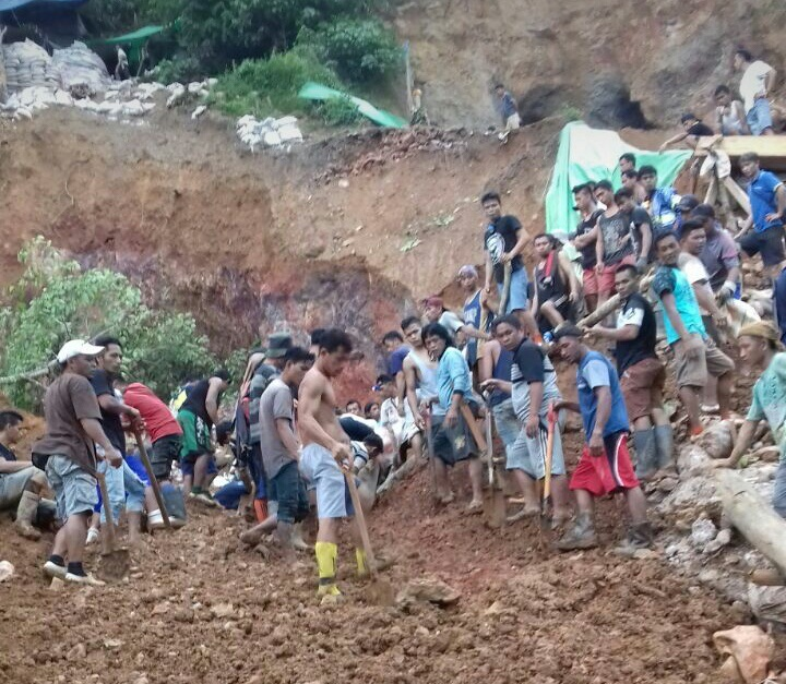 Tambang Ilegal Desa Bakan Ambruk, 3 Meninggal 3 Masih Tertimbun Longsor