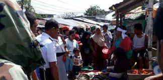 Dishub Bolmong Tertibkan Pedagang di Ruas Jalan Inobonto