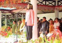 Wali Kota Bacakan Sambutan Presiden RI Saat Bertindak sebagai Irup Hari Bhayangkara ke-72