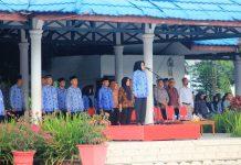 Wali Kota Pimpin Apel Korpri yang Dirangkaikan Penyerahan Sertifikat kepada Koperasi Berprestasi