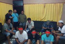 Tim Resmob Polres Bolmong Amankan Lima Orang Terduga Pelaku Judi Togel