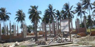 Pembangunan Kantor Diskominfo Bolmong Sudah Mencapai 30 %