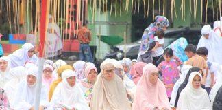 Wali Kota Shalat Idul Adha di Lapangan Boki Hotinimbang Kota Kotamobagu