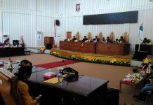 DPRD Bolmut Gelar Paripurna LPj Pelaksanaan APBD Tahun 2017