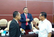 Forkonas PP CDOB Audiens dengan Komite I DPD RI