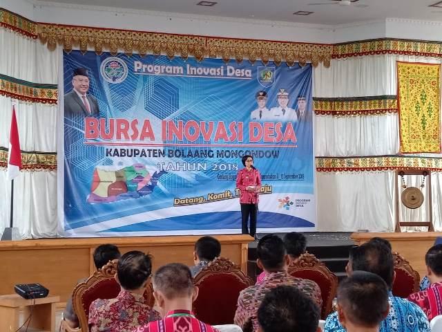 Pemkab Bolmong Gelar Bursa Inovasi Desa