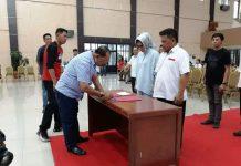 TB-NK Ikuti Gladi Bersih Pelantikan Wali Kota dan Wakil Wali Kota Kotamobagu