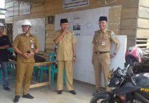 Bupati dan Wabup Bolsel Tinjau Pembangunan Gedung Islamic Centre