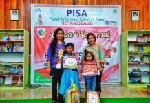 Ivy Xaviera Piri Juara l Lomba Mewarnai Tingkat SD dalam Rangka HUT ke-54 Sulut