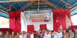 Pemkab Bolmong Nikahkan 183 Pasang Pengantin Secara Massal
