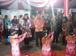 Wali Kota Hadiri Pembukaan Pameran Pembangunan HUT ke-54 Provinsi Sulut