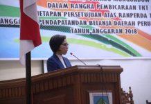 Bupati Bolmong Hadiri Rapat Paripurna Tahap II Penetapan dan Persetujuan Ranperda APBD-P Tahun 2018