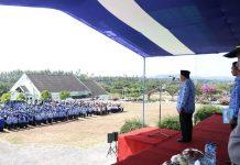 Pemkab Boltim Gelar Upacara Peringatan HUT ke-54 Provinsi Sulut dan Harhubnas
