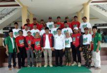 Pemkab Bolmong Terima Pasukan Kirab Satu Negeri GP Ansor