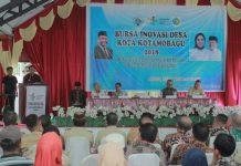 Wakil Wali Kota Kotamobagu Buka Kegiatan Bursa Inovasi Desa