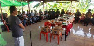 Puluhan Tokoh Masyarakat Bolmut dan Boltim Temui Herson Mayulu di Kediaman